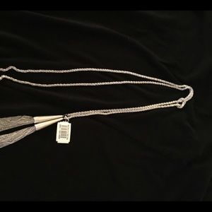 New Kendra Scott Phara Necklace In Silver
